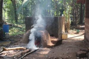 Cashew Feni distillation