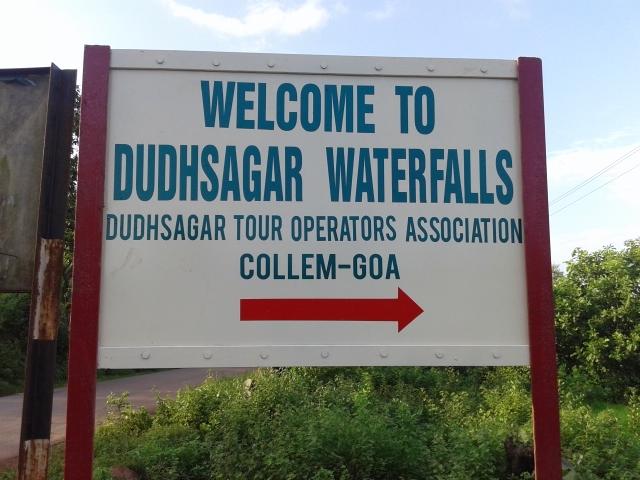 Welcome to Dudhsagar Waterfalls Goa