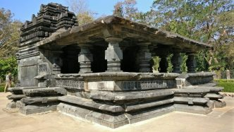 View of Tambdi Surla Temple