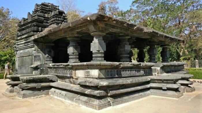 View of Tambdi Surla Temple